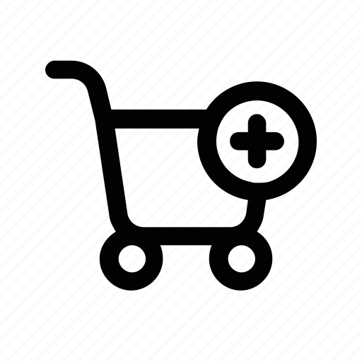 buy, cart, food, plus, shop, shopping icon