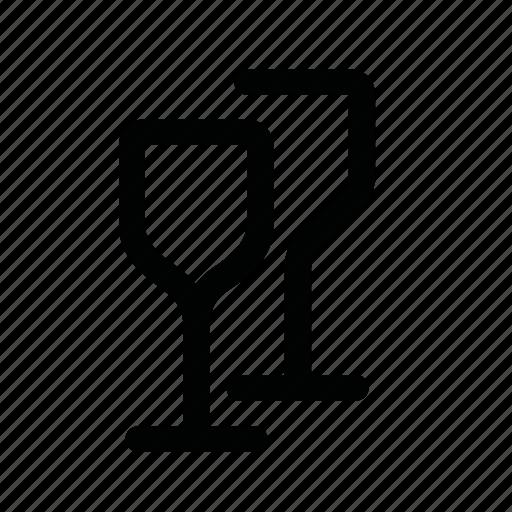 alcohol, drink, glass, vine icon