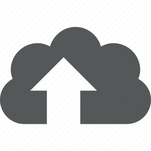 cloud, send, transfer, up, upload icon