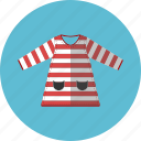 children wear, dress, girl dress, striped icon