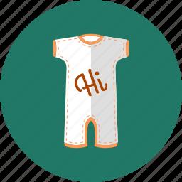 child clothes, children wear, kids, romper, shortie, unisex kids icon