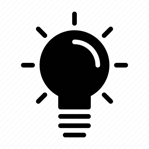business, care, creativity, idea, lamp, quality, service icon