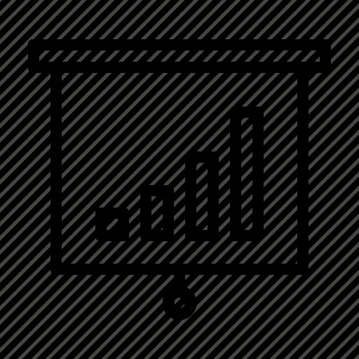 business, care, grow, presentation, quality, service icon
