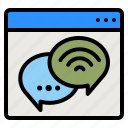chat, live, customer, service, support