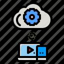 cloud, computing, server, data, internet