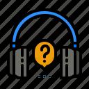 help, headphone, customer, service, information