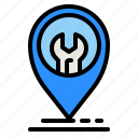 repair, maps, location, technical, support