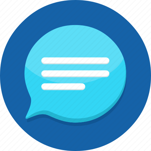 chat, communication, conversation, mail, message, talk, text icon