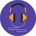 audio, headphone, instrument, music, song, sound, speaker icon