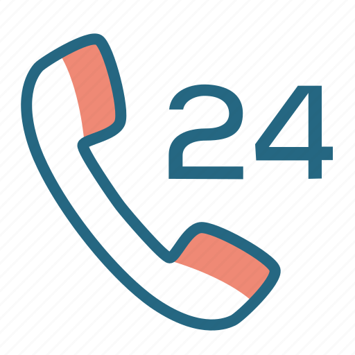 call center, hotline, phone, support icon