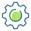 cog, gear, mechanism, settings icon