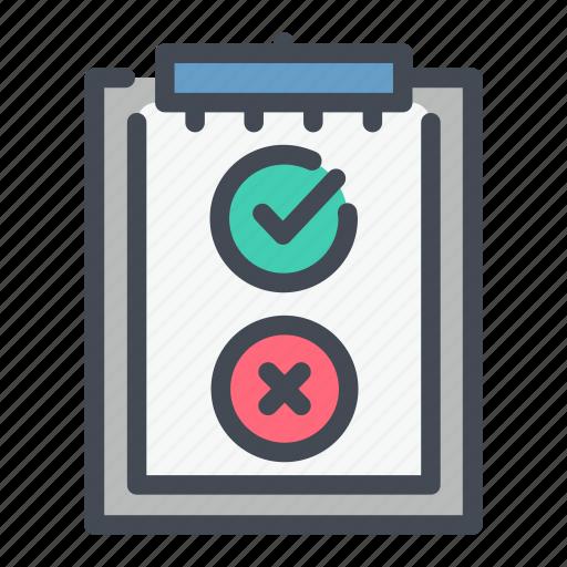 answer, clipboard, exam, survey, taskboard, test icon