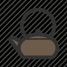kettle, tea, teapot, water pot icon