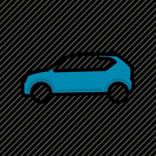car, ignis, suzuki, transport, vehicle icon