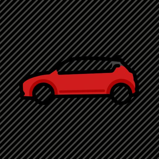Car, hatchback, suzuki, swift, vehicle icon - Download on Iconfinder