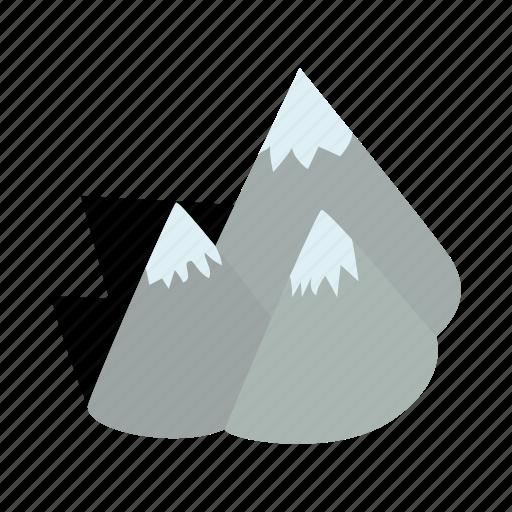 isometric, lapland, mountain, nature, outdoor, scandinavia, sweden icon