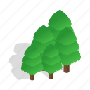 forest, isometric, landscape, nature, sweden, tree, wood