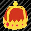 authority, cartoon, crown, decoration, emblem, logo, object