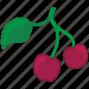 cherry, eat, food, fruit