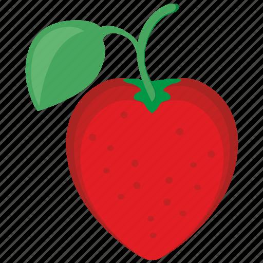eat, food, fruit, strawberry icon