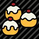 bakery, bun, buns, dessert, sweet icon