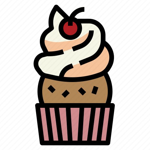 Baked, bakery, cupcake, muffin, sweet icon - Download on Iconfinder