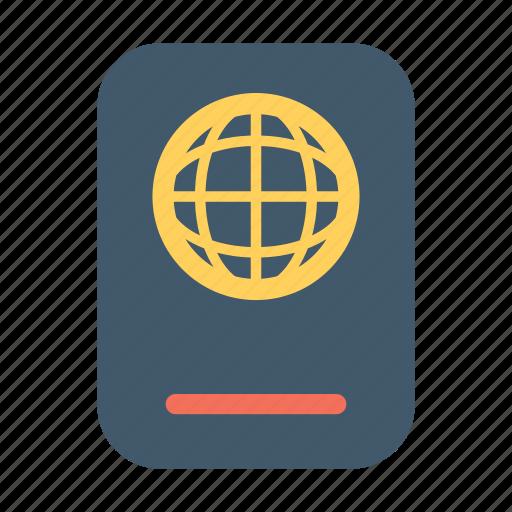 accomodation, facility, hotel, motel, passport icon