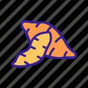 batata, fried, potato, potatoes, sliced, sweet, two icon