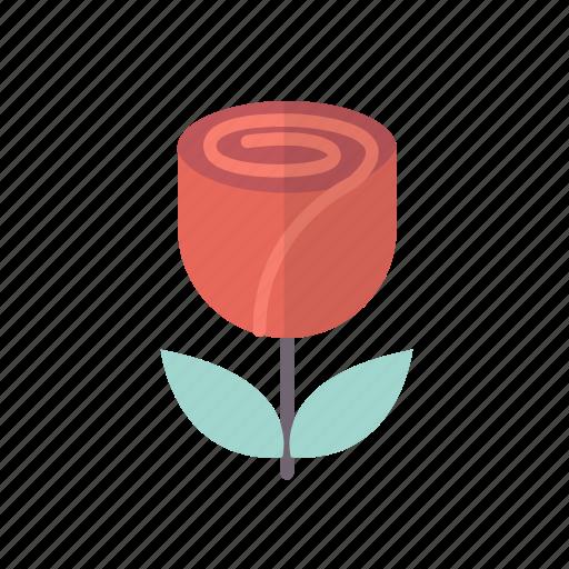flower, love, rose, sweet, valentine icon