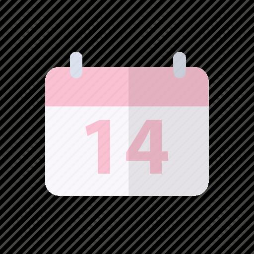 calendar, love, sweet, valentine, wedding icon