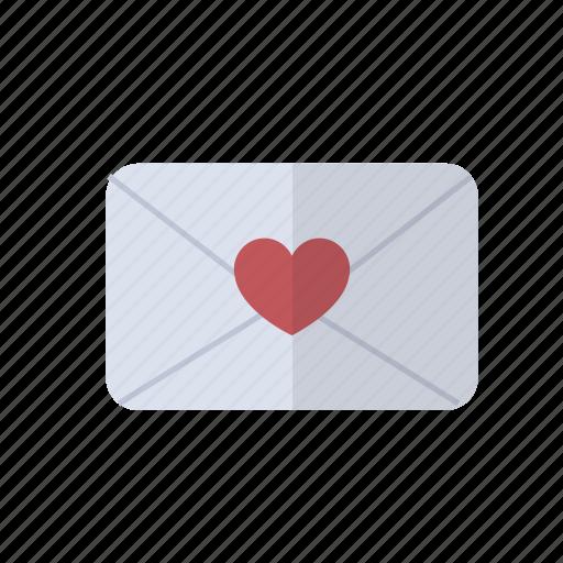heart, letter, love, valentine, wedding icon