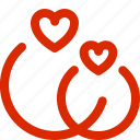dating, february, greeting, holiday, love, ring, valentine icon