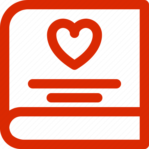 book, dating, february, greeting, holiday, love, valentine icon