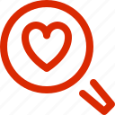 dating, february, greeting, holiday, love, search, valentine icon