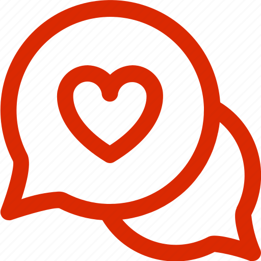 chat, dating, february, greeting, holiday, love, valentine icon