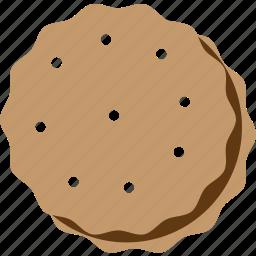 cookie, dessert, food, sweet icon