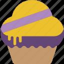 dessert, food, muffin, sweet