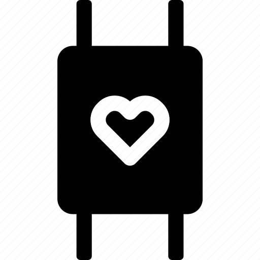 device, favorite, heart, love, passion, watch icon