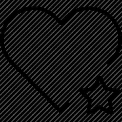 bookmark, favorite, heart, love, passion icon