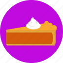 cake, dessert, food, frosting, pie, sweets