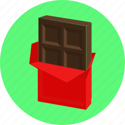 bar, candy, candy bar, chocolate, dessert, sweets icon