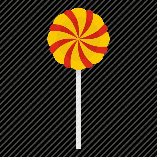 candy, dessert, food, lollipop, stick, sugar, sweet icon