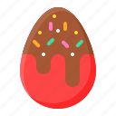 chocolate, dessert, egg, sugar, sweet, sweets