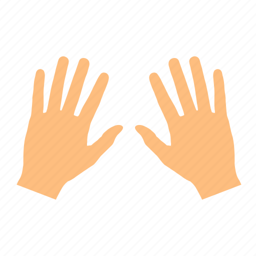 clean, fingers, hand, left, right icon