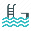 beach, pool, sport, swim, swimming, swimming pool icon