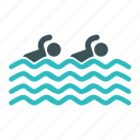 beach, pool, sport, swimmer, swimming, swimming pool icon