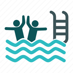 beach, pool, sport, swimmer, swimming, swimming pool icon