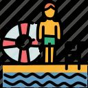 holiday, pool, swimming, vacation icon