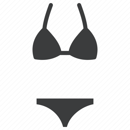 Beach, bikini, swimming, swimsuit icon - Download on Iconfinder