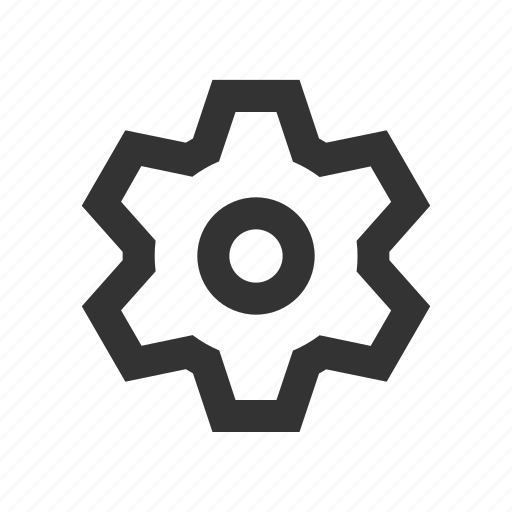 control, gear, setting icon